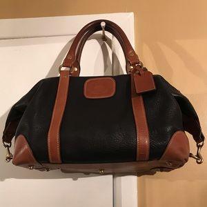 AUTHENTIC GHURKA leather satchel